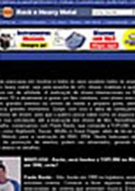 Entrevista com Paulo Baron no site www.whiplash.net