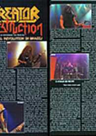 Review Kreator e Destruction Roadie Crew Nº45